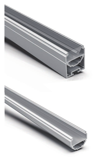 Surface/Suspension Architectural Aluminum Extrusion  Series AT-15-60