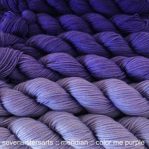 Meridian Gradient Color Me Purple