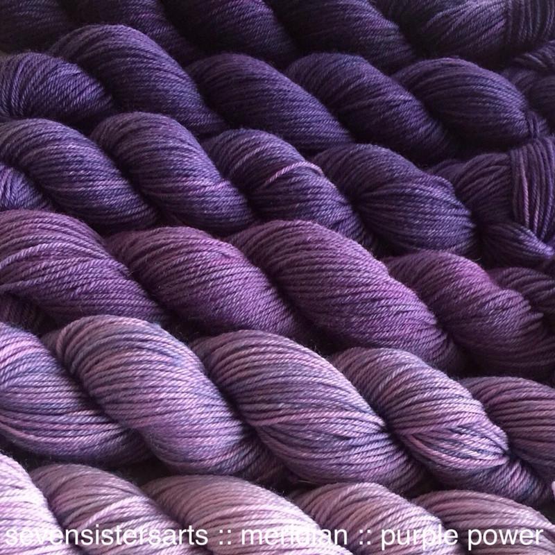 Meridian Gradient Purple Power