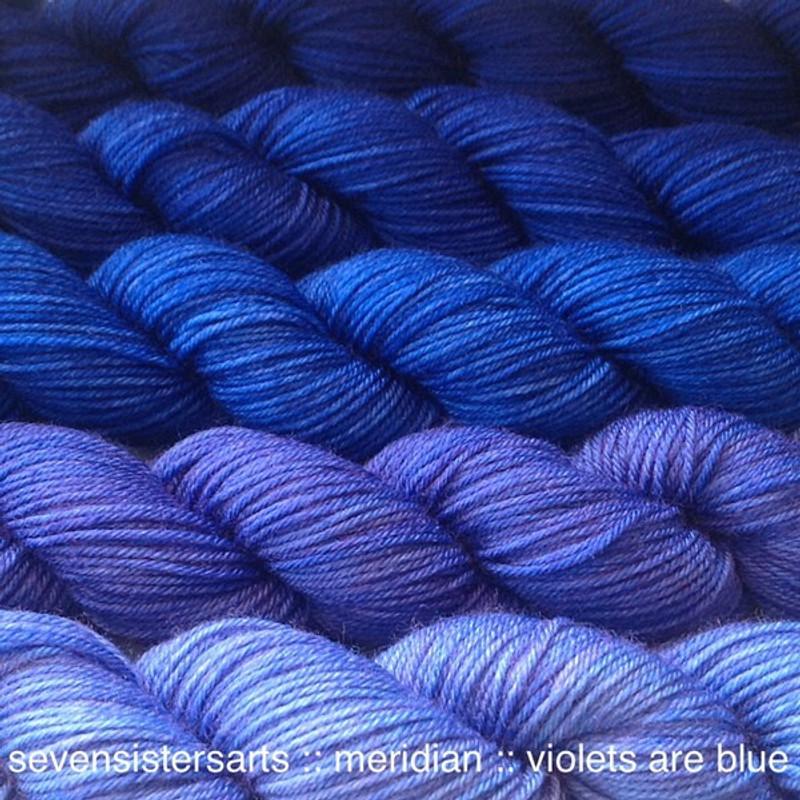 Violets Are Blue Gradient Set Minis