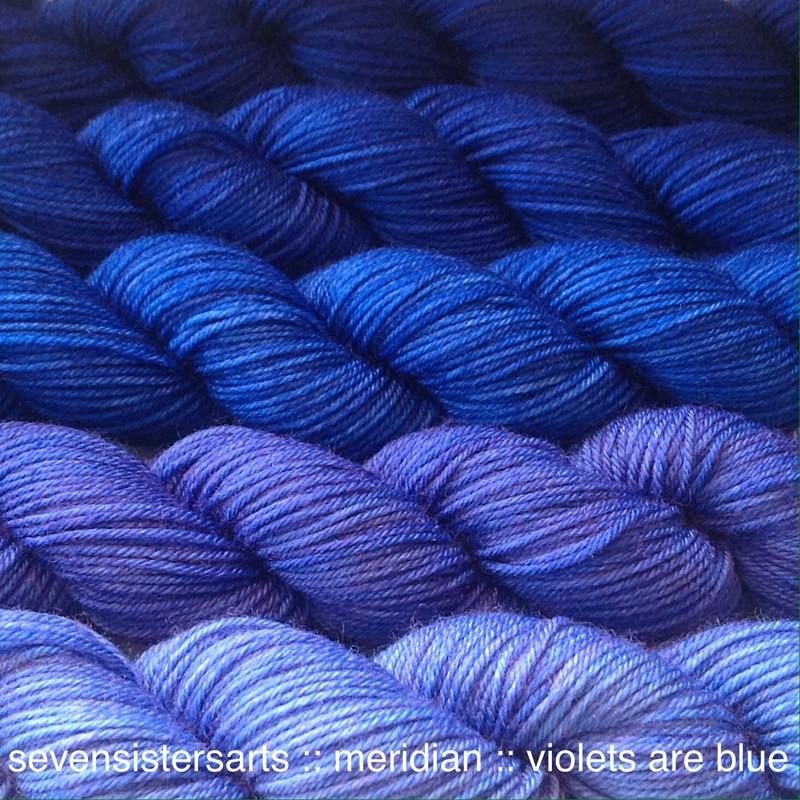 Violets Are Blue Gradient Single Full Skeins