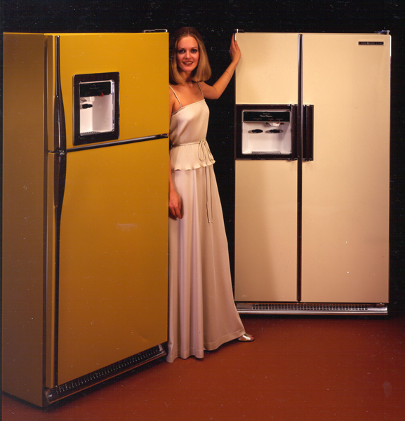 Refrigerators in the new naturals colors