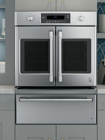 French Door Self Cleaning Wall Oven