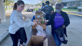 GEA employees assemble care bags for local veterans