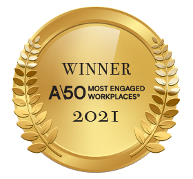 50 most engaged workplaces 2021.