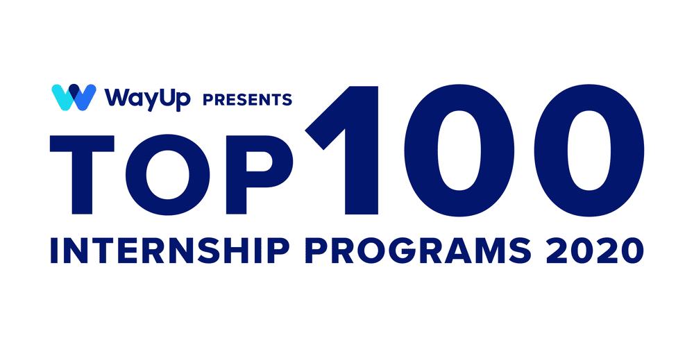 WayUp presents Top 100 Internship Programs 2020