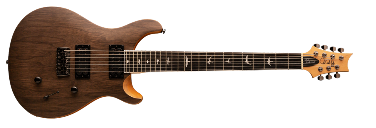 PRS SE Mark Holcomb SVN - Walnut - 7 String - On Sale at Guitar World Australia