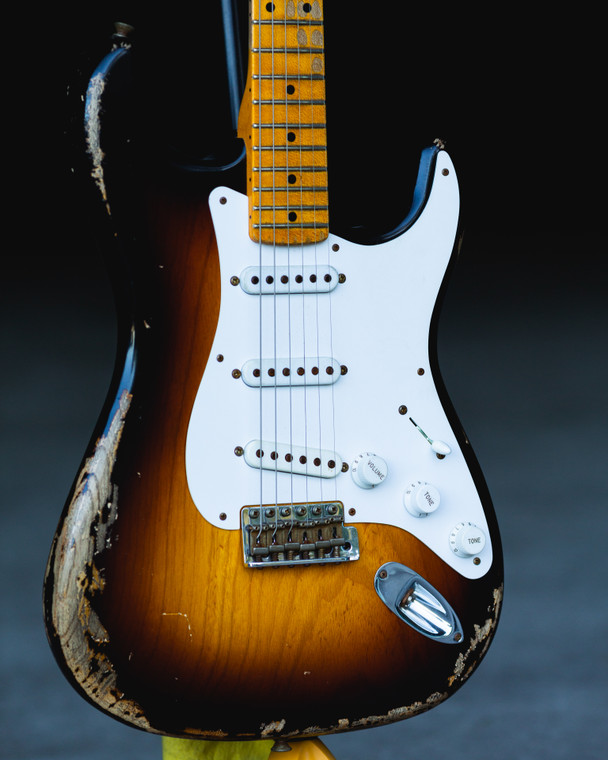 FENDER 60TH ANNIVERSARY 1954 STRATOCASTER CUSTOMSHOP RELIC