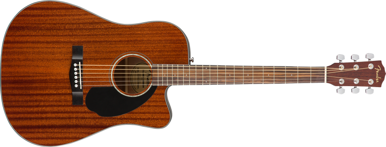 Fender CD-60SCE, Dreadnought All Mahogany