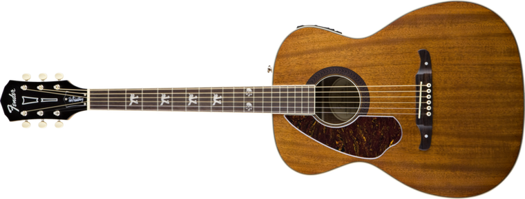 Fender Tim Armstrong Hellcat Acoustic-Left Handed