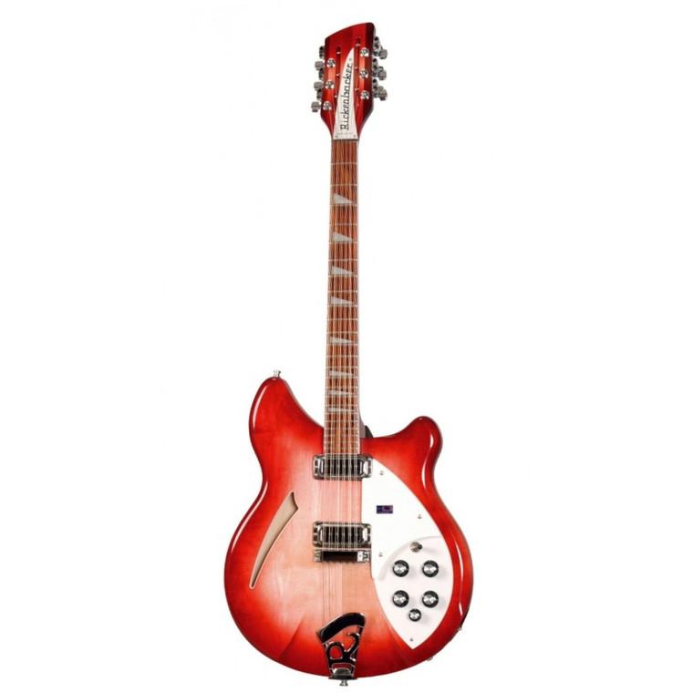 Rickenbacker 360/12 Semi-Hollow Body Electric Guitar Fireglo