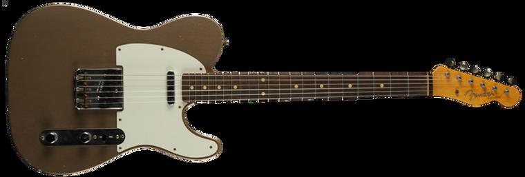 Fender 1959 Journeyman Relic Telecaster, Rosewood Fingerboard, Shoreline Gold