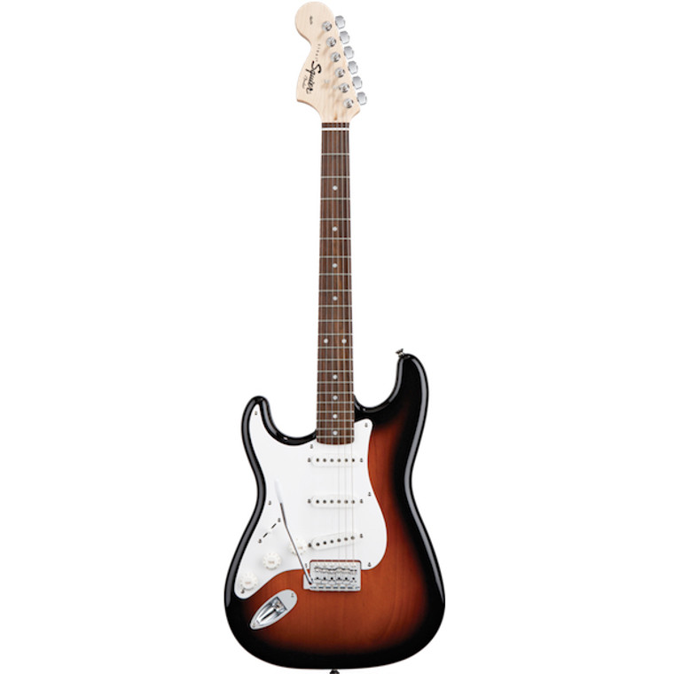 FENDER SQUIER Affinity Stratocaster, Left-Handed Guitar World Qld Ph 07 55962588