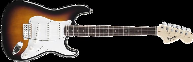 FENDER SQUIER Affinity Stratocaster, Rosewood Fingerboard, Brown Sunburst