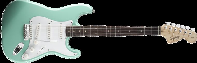 FENDER SQUIER Affinity Stratocaster, Rosewood Fingerboard, Surf Green