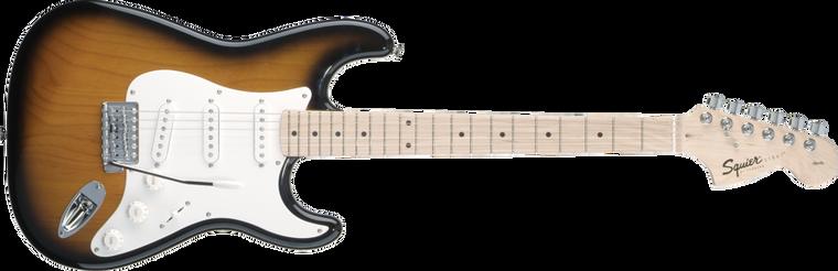 FENDER SQUIER Affinity Stratocaster, Maple Fingerboard, 2-Color Sunburst