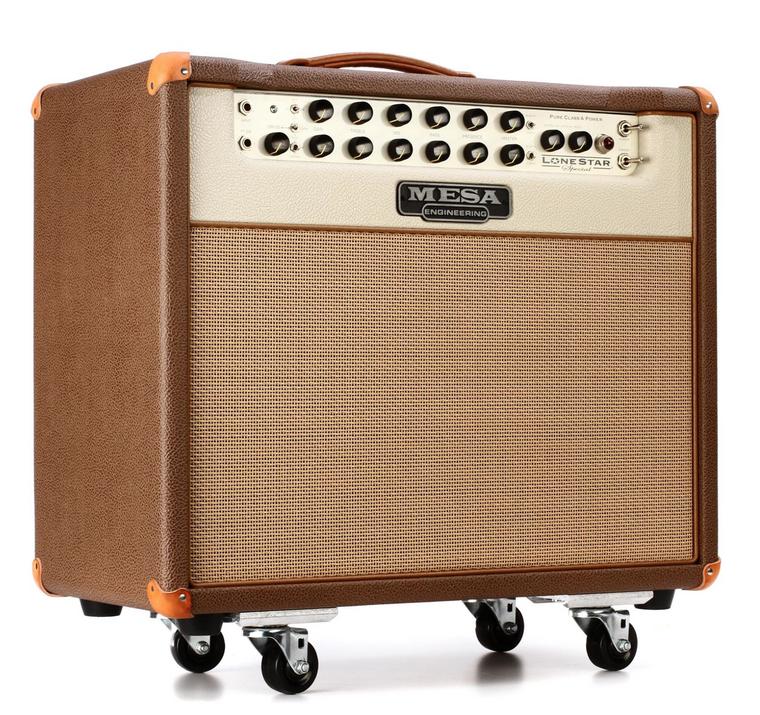 "Mesa/Boogie Lone Star Special 30-watt 1x12"" Tube Combo Amp - Coca Bronco/Cream Bronco"