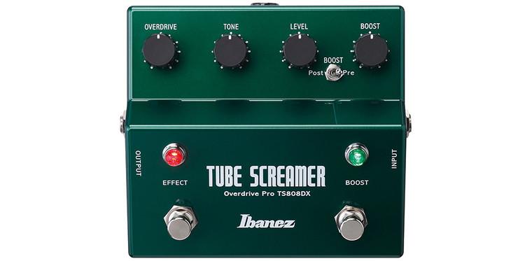 Ibanez TS808DX Tube Screamer Deluxe Pedal