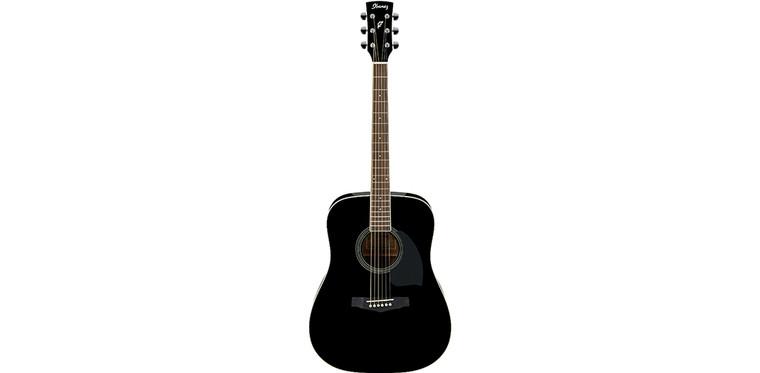 Ibanez PF15ECE BK Acoustic Guitar