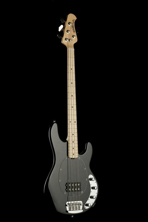 MUSICMAN STINGRAY 3EQ 4-STRING BASS GUITAR Black Mpl Guitar World Australia Ph 07 55962588