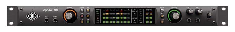 Universal Audio Apollo x8 18x24 Thunderbolt 3 Audio Interface with UAD DSP