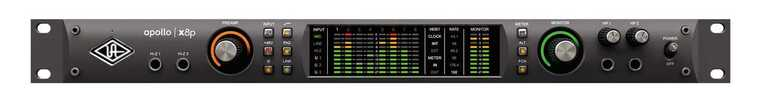 Universal Audio Apollo x8p 18x22 Thunderbolt 3 Audio Interface with UAD DSP