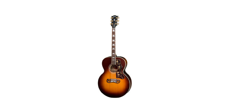Gibson J-200 Acoustic Guitar Wildfire Burst