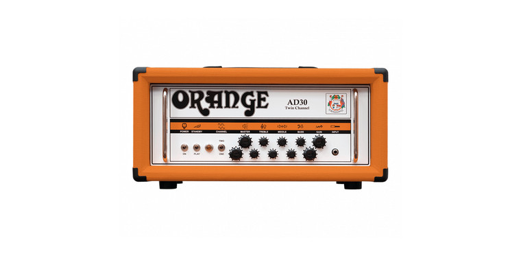 Orange AD30HTC Twin Channel Valve Head 30W Class A
