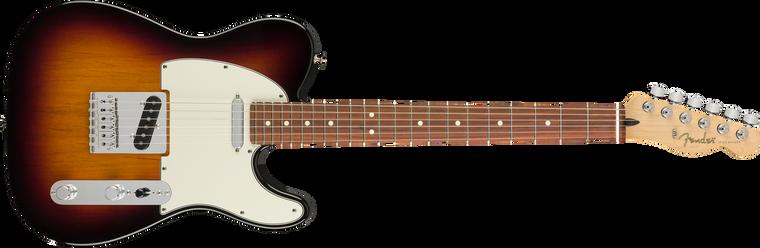 Fender Player Telecaster Pau Ferro Fingerboard, 3-Color Sunburst
