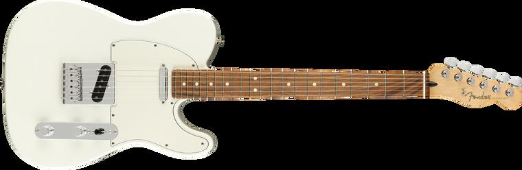Fender Player Telecaster Pau Ferro Fingerboard, Polar White