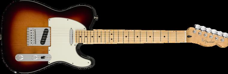 Fender Player Telecaster Maple Fingerboard, 3-Color Sunburst