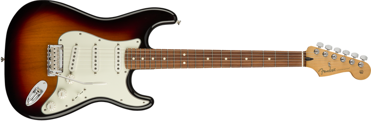 Fender Player Stratocaster Pau Ferro Fingerboard, 3-Color Sunburst