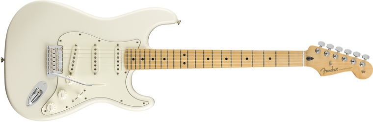 Fender Player Stratocaster Maple Fingerboard, Polar White