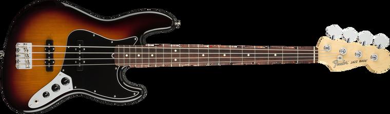 Fender American Performer Jazz Bass, Rosewood Fingerboard, 3-Color Sunburst