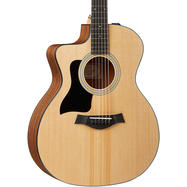 Taylor 114ce LH- Left Handed Layered Walnut Back and Sides
