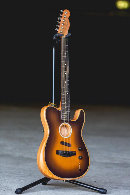 Fender American Acoustasonic Telecaster W/Deluxe Gigbag - Sunburst