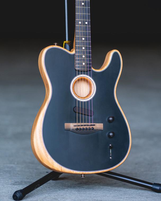 Fender American Acoustisonic Telecaster - Black (885978072927)