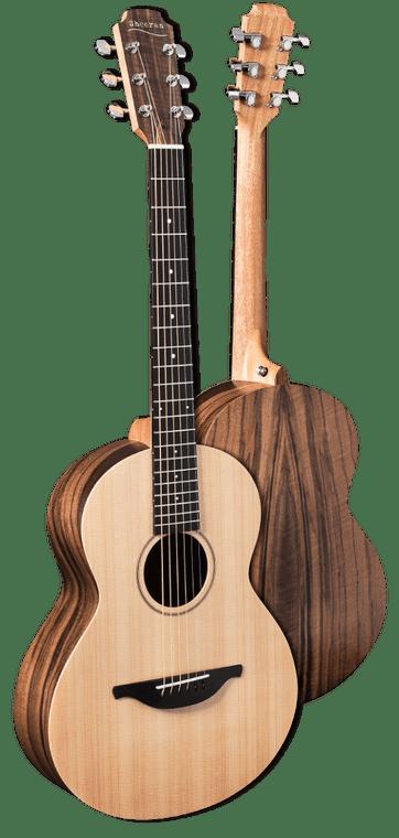 Sheeran By Lowden W01 - Solid Cedar Top, Walnut back and sides,