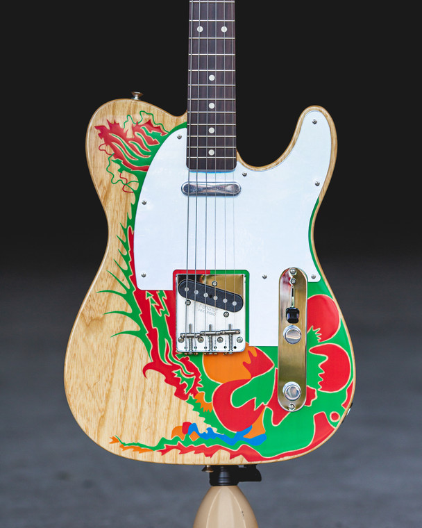 Fender Jimmy Page Telecaster - Natural Dragon Artwork (0146230721)