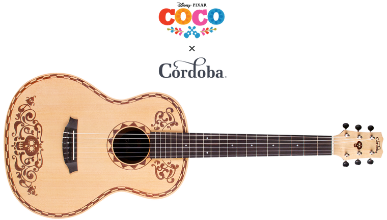 CORDOBA COCO 7/8 SIZE GUITAR SP/MH PACK