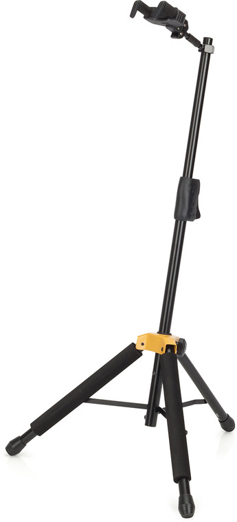 Hercules Stands GS414BPlus PLUS Series Universal AutoGrip Guitar Stand with Foldable Yoke