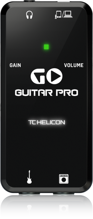 TC-Helicon GO GUITAR PRO Portable Guitar Interface for Mobile Devices