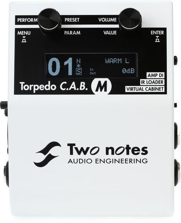 Two Notes Torpedo C.A.B. M Speaker Simulator Pedal