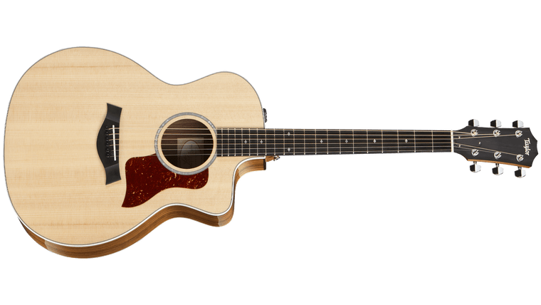 Taylor 214ce Deluxe - Natural with Layered Rosewood Back & Sides