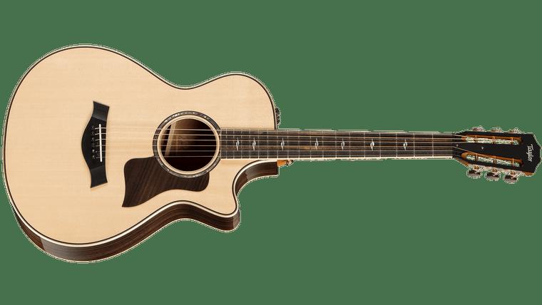 Taylor 812ce 12-Fret V-Class - Natural