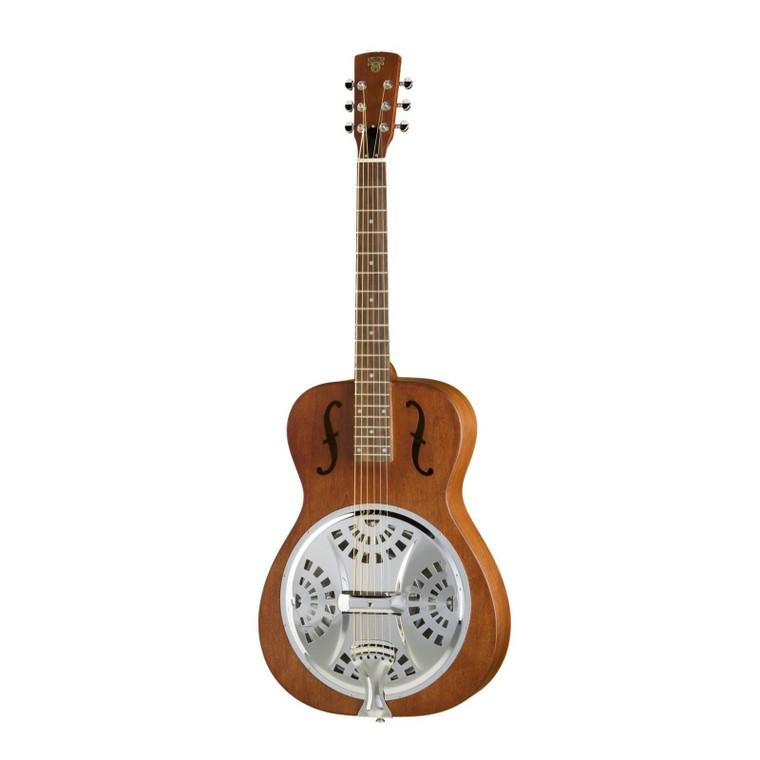Epiphone Dobro Hound Dog Round Neck Resonator Guitar Vintage Brown