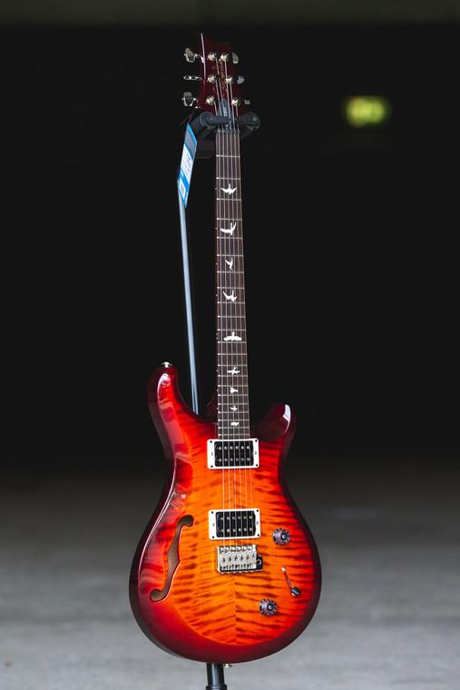 PRS S2 Custom 22 Semi-hollow - Dark Cherry Sunburst