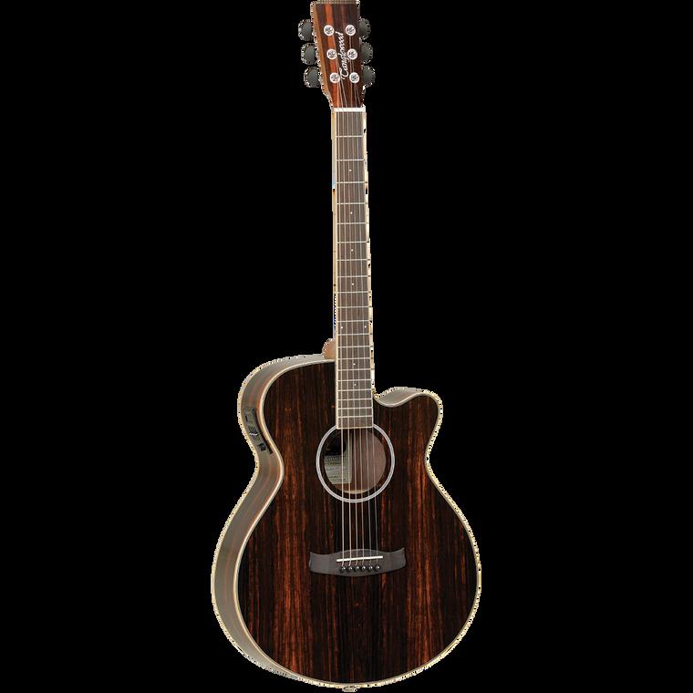Tanglewood Discovery Exotic SFCE Ebony Guitar World QLD Ph 07 55962588
