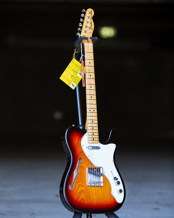 Fender American Original '60s Telecaster Thinline - 3-Tone Sunburst