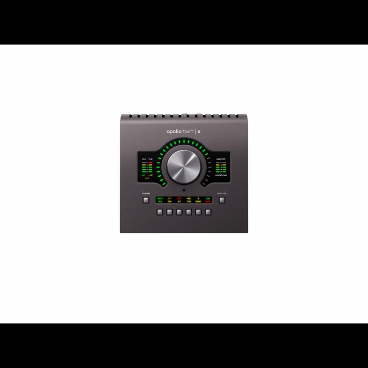 Universal Audio APOLLO Twin X Thunderbolt 3 Audio Interface W/UAD-2 QUAD Core Processing